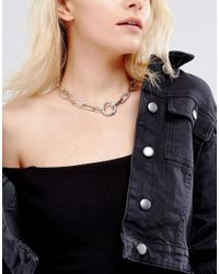 Gogo Philip - Metallic Link Chain Necklace - Lyst