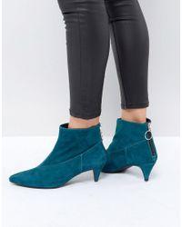 Gestuz - Green Sheba Suede Boots - Lyst