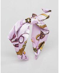ASOS - Multicolor Design Vintage Style Scarf Print Headband - Lyst