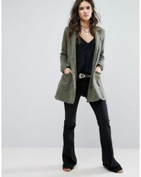 Free People - Green Effortless Lightweight Mac Jacket - Lyst