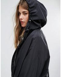 Vero Moda - Black Relaxed Parka - Lyst