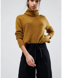 SELECTED - Black Femme Cropped Trousers - Lyst
