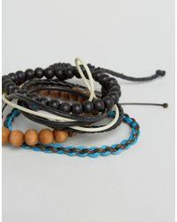 Classics 77 - Multicolor Beaded & Cord Bracelet Pack for Men - Lyst