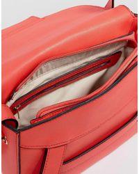 Park Lane - Red Crossbody Bag With Tassel - Lyst