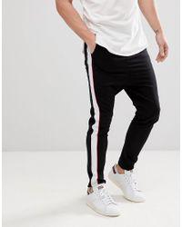 Jack & Jones - Blue Core Track Pant With Leg Stripe for Men - Lyst