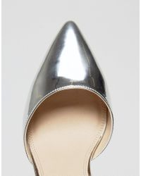 ASOS - Metallic Pick N Mix Pointed Heels - Lyst