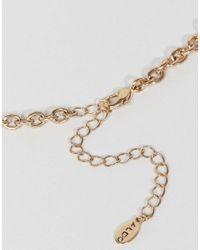 ALDO - Metallic Embellished Bug Necklace - Lyst