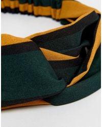 ASOS - Multicolor Stripe Twist Headband - Lyst