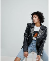 The Ragged Priest - Black Label Leather Jacket - Lyst