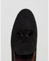 House Of Hounds - Alfred Suede Loafers In Black for Men - Lyst