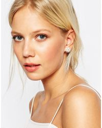ALDO - Metallic Culian Through & Through Earrings - Lyst