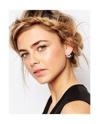 ALDO - Metallic Eleavia Swing Earrings - Lyst