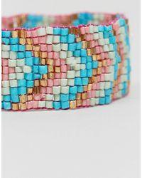ASOS - Pink Summer Bead Friendship Bracelet - Lyst