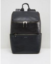 Matt & Nat | Black Brave Double Zipped Backpack | Lyst