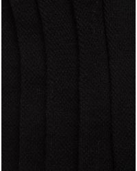 ASOS - Black Invisible Socks In Mini Waffle 5 Pack Save for Men - Lyst