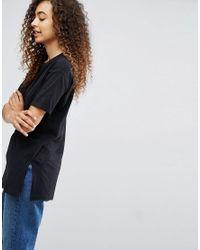 ASOS - Black Ultimate Easy Boyfriend T-shirt - Lyst