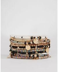 ALDO | Metallic Giviel Multipack Bracelets | Lyst