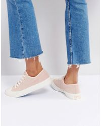 Converse - Jack Purcell Suede Sneakers In Dusky Pink - Lyst