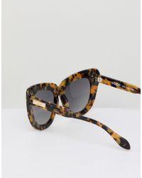 Sonix - Brown Cat Eye Sunglasses In Tort for Men - Lyst