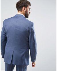 Reiss - Slim Suit Jacket In Blue for Men - Lyst