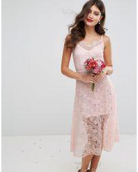 a7f46701e9bd Body Frock Wedding Dahlia Dress in Pink - Lyst