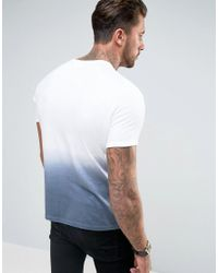 Another Influence - Blue Ombre Fade Out T-shirt for Men - Lyst