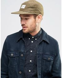 Herschel Supply Co. - Green Glendale Cap In Khaki for Men - Lyst
