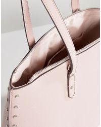 Bershka - Pink Pastal Shopper Bag - Lyst