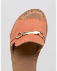 ASOS - Orange Jasmina Suede Summer Shoes - Lyst