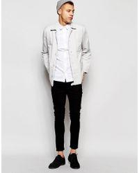 WÅVEN - Green Oxford Shirt Mimir Slim Fit White for Men - Lyst