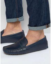 eb23568a5e4 ALDO Rotenberg Driving Loafers in Blue for Men - Lyst