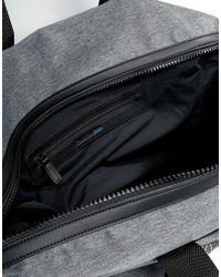 Calvin Klein - Gray Logo Grey Weekend Bag - Grey - Lyst