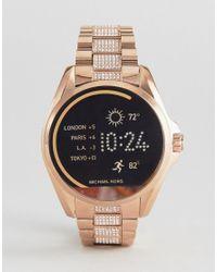 6feb39b154d3 Michael Kors. Women s Metallic Access Mkt5018 Bradshaw Bracelet Smart Watch  ...