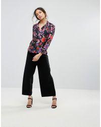 Love - Black Floral Shirt - Lyst