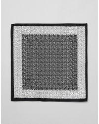 ASOS - Black Pochette imprim petites fleurs for Men - Lyst