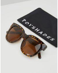 ToyShades - Multicolor Massey Square Sunglasses - Lyst