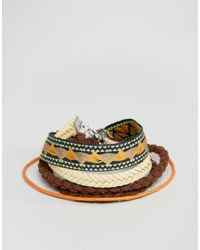 ASOS | Multicolor Aztec Bracelet Pack | Lyst