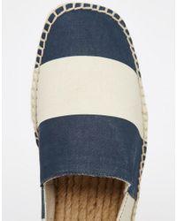 ALDO - Blue Larelang Striped Espadrilles for Men - Lyst