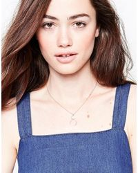 Nylon - Metallic Gold Plated Necklace - Lyst