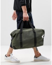 Rains - Holdall In Green for Men - Lyst