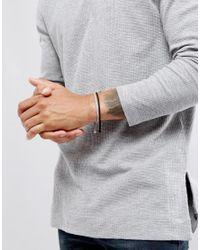 ASOS - Rope Bracelet Pack In Black And Grey for Men - Lyst