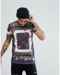 Criminal Damage - Printed T-shirt In Black for Men - Lyst