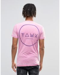 Friend or Faux - Pink T-shirt for Men - Lyst