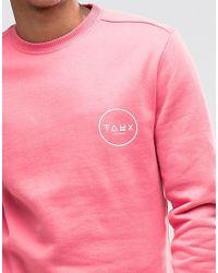 Friend or Faux   Sweatshirt - Pink for Men   Lyst