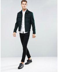 ASOS - Skinny Shirt In White for Men - Lyst