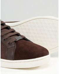Ted Baker - Brown Owenn Suede Sneakers for Men - Lyst