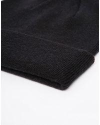 Minimum - Black Beanie Hat for Men - Lyst