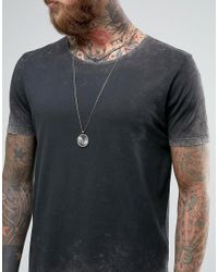 ASOS - Gray Longline T-shirt With Acid Wash In Relaxed Fit for Men - Lyst