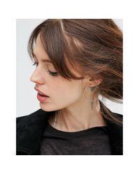 ASOS | Multicolor Spike Hoop Earring Pack | Lyst