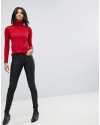 Esprit - Red Light Knit Turtleneck Sweater - Lyst